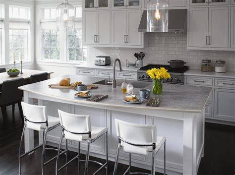 laminate countertops with white cabinets a quot living triangle quot kitchen featuring formica 174 laminate in