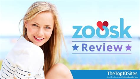 zoosk review  dating site youtube