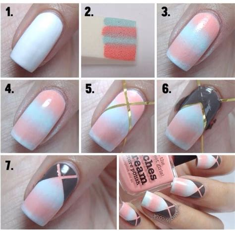 easy nail art tricks nice easy nail art for beginners step by step tutorials