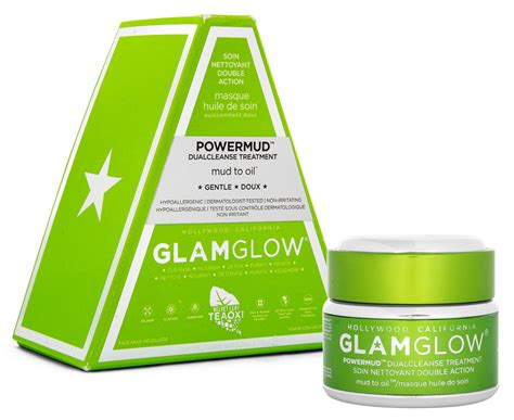 Glamglow Detox Mask by Glamglow Powermud Dual Cleanse Treatment 50g Great Daily