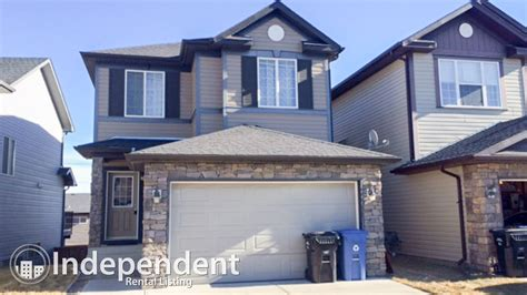 3 Bedroom House With Basement For Rent 3 bedroom house with walkout basement for rent in kincora