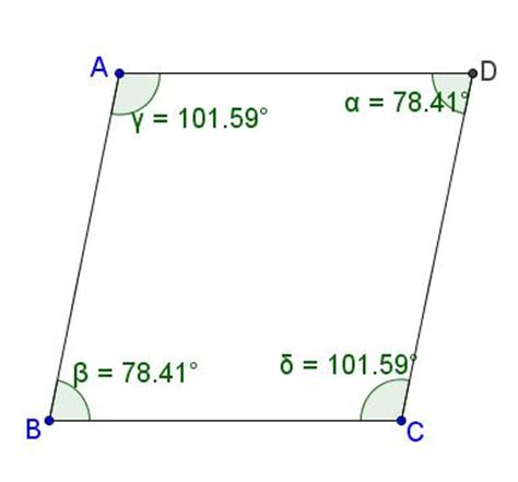 Interior Angles Of A Parallelogram by Properties Of A Parallelogram Figures Speak Mathematics