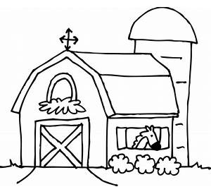 farm coloring pages free printable coloring pages - Free Printable Barn Coloring Pages