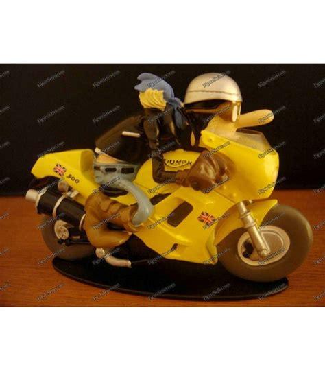 Triumph Motorrad Miniatur by Fig 252 Rchen Harz Joe Bar Team Triumph 900 Daytona Motorrad