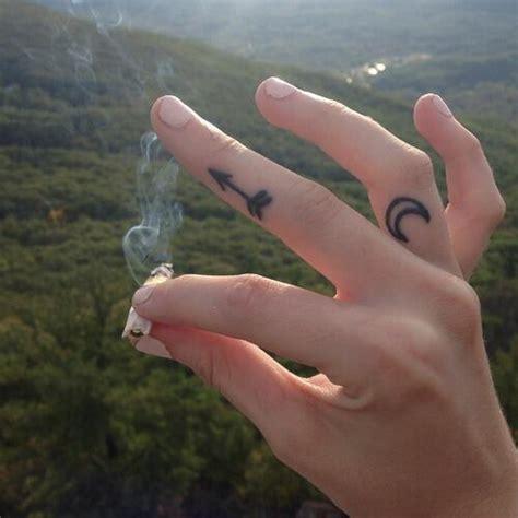 Finger Tattoo Symbols Tumblr | arrow finger tattoo tumblr