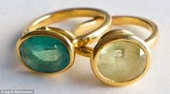 These rings have become my trademark the two unusual coloured