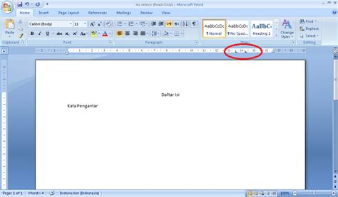 membuat daftar isi di ms word 2007 membuat daftar isi otomatis di ms word 2007 santri aktif