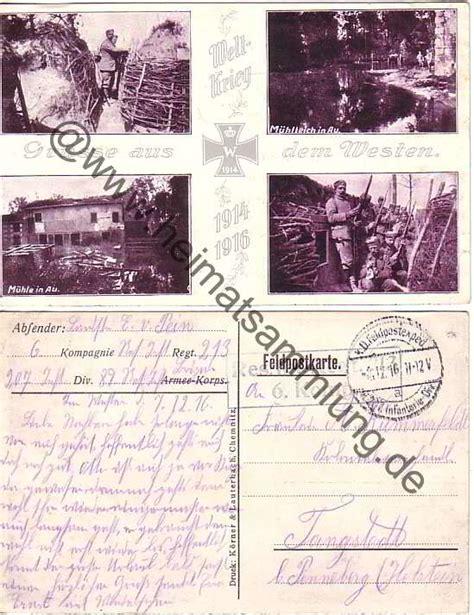 Postkarten Drucken Chemnitz by Historische Ansichtskarten Milit 228 R Wk I Ww I 01