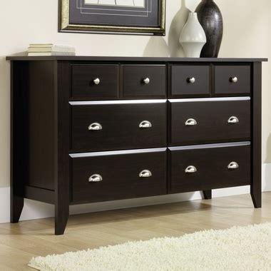 child craft dresser jamocha shoal creek 6 drawer double dresser jamocha f04709 07 by