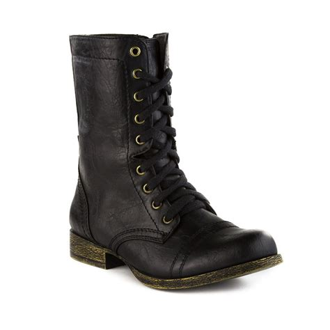 womens madden trixie boot black journeys shoes