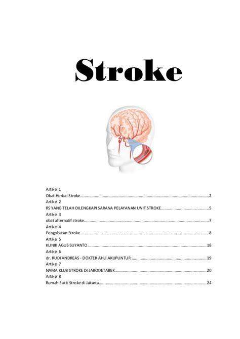 format askep penyakit stroke kesehatan 6 penyakit stroke