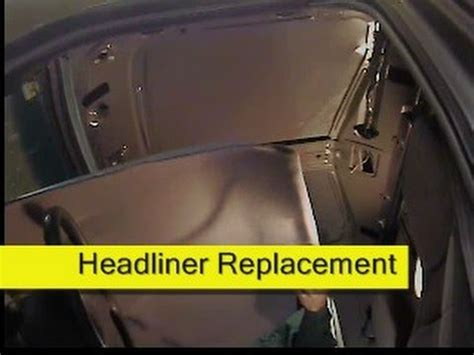 how to fix cars 1993 ford f350 head up display headliner replacement 93 97 ford ranger how to diy youtube