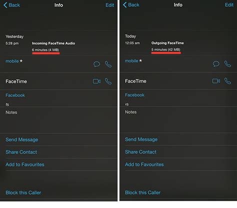 How To Find On Facetime How To Find Out How Much Data Is Used By Facetime Calls
