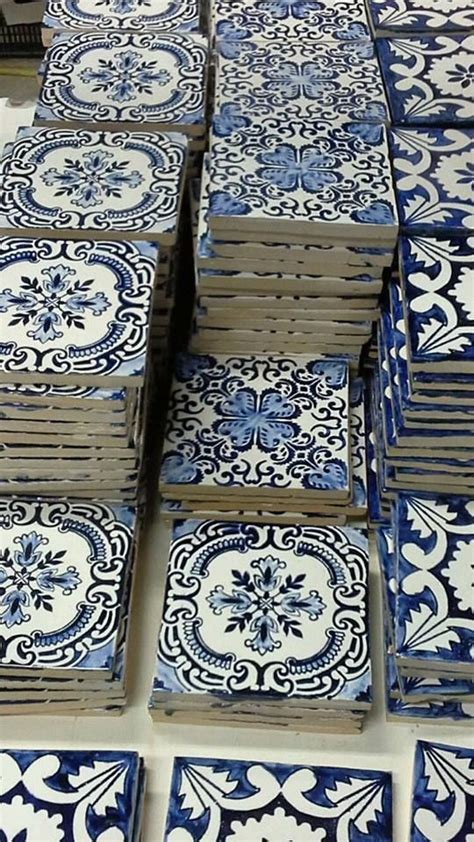 french blue and white ceramic tile backsplash 1000 ideas about portuguese tiles on pinterest tile