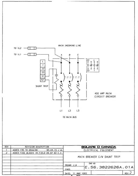square d shunt trip breaker wiring diagram ac circuit breaker panel ac free engine image for user
