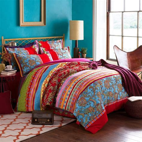 Boho Bedroom Set by Boho Chic Bedding Sets With More Ease Bedding With Style