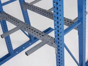 a frame vertical storage racks steel king industries inc
