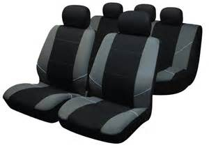 Truck Seat Covers In Houston Tx Fundas Asientos Coche En Color Plata Y Negro
