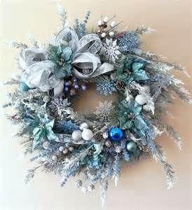 christmas decorations ideas pink and blue