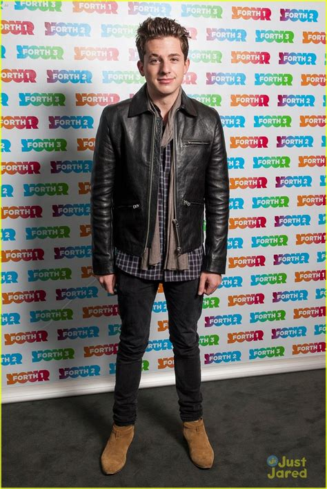 charlie puth jeans charlie puth looks dapper at the radio forth awards 2015