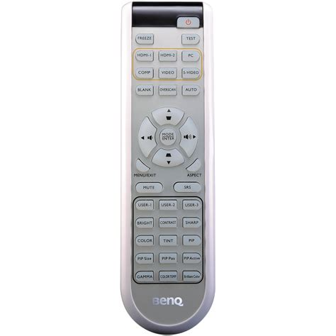 benq w1100 replacement l benq 5j j4g06 001 replacement standard remote 5j j4g06 001 b h