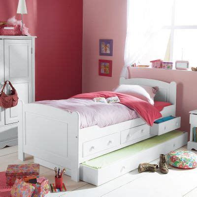 lit tiroirs chambre fille awesome ideas