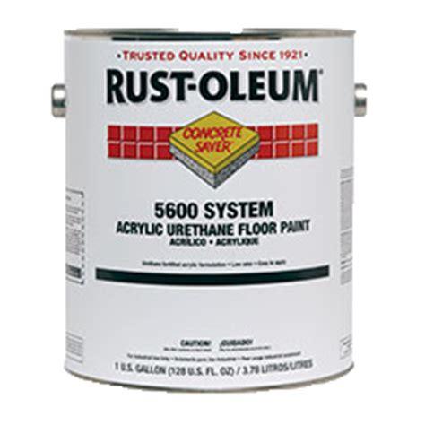 concrete saver 174 5600 system acrylic urethane floor paint
