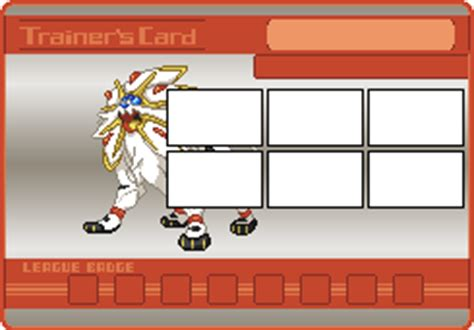 sun and moon card template trainer card templates sun moon card backgrounds