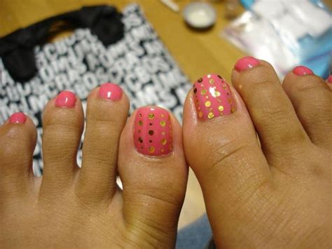 easy at home toe nail designs myfavoriteheadache