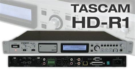 hd recorder recording devices tascam hd r1 tascam for sale in