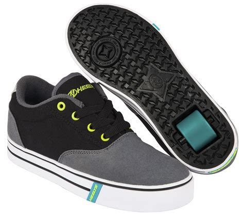heelys shoes for sale heelys launch charcoal black lime boys heelys heelys