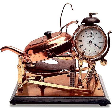 retrosink timey alarm clock tea maker beyond the kitchen sink