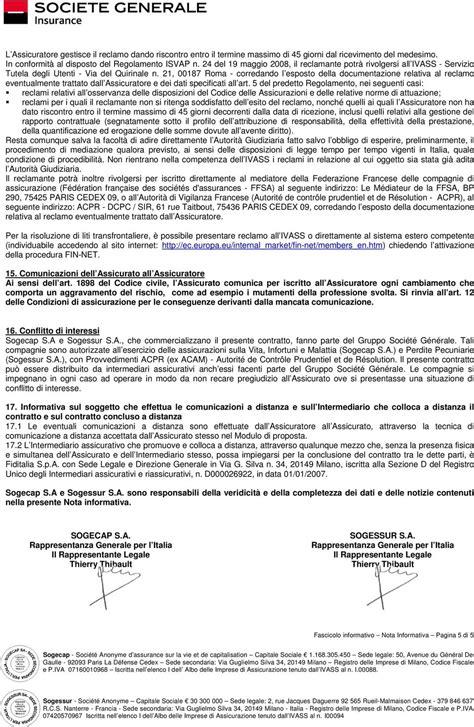 sogessur assicurazioni sede legale proxilia conto fascicolo informativo pdf