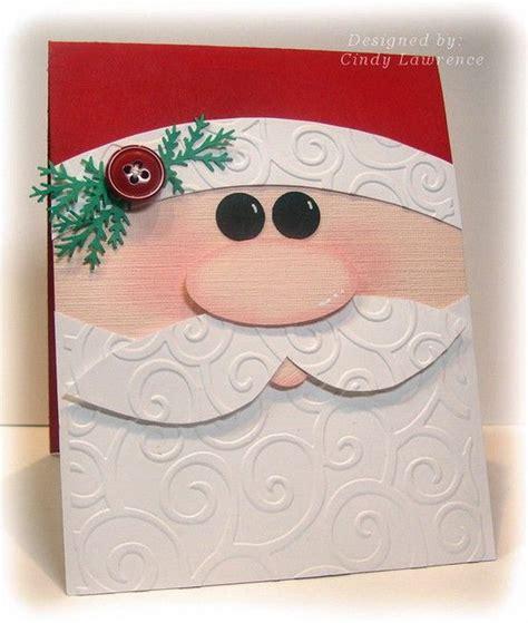 santa cards to make 25 diy cards ideas tutorials