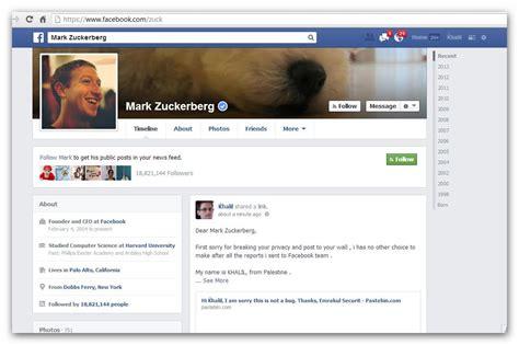 le compte facebook de mark zuckerberg partiellement hacke