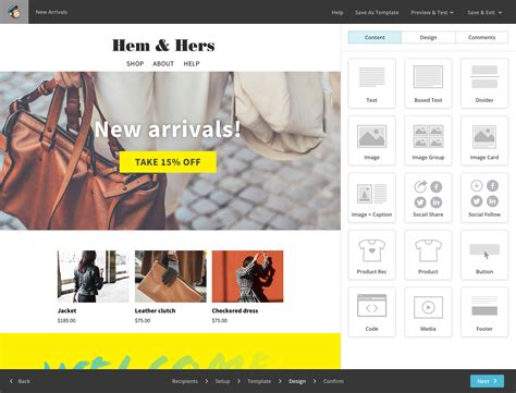 Mailchimp Features And Marketing Tools Mailchimp Template Size