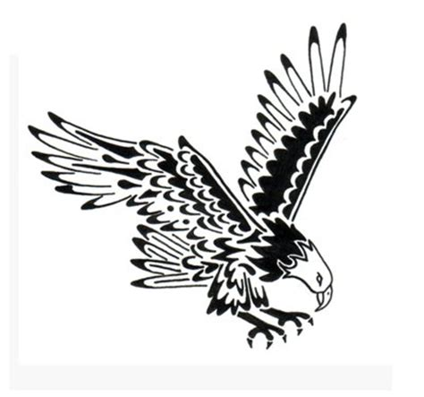 simple eagle tattoo designs simple designs pictures
