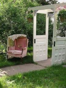 Using Old Doors In Landscaping Dishfunctional Designs The Upcycled Garden Volume 1