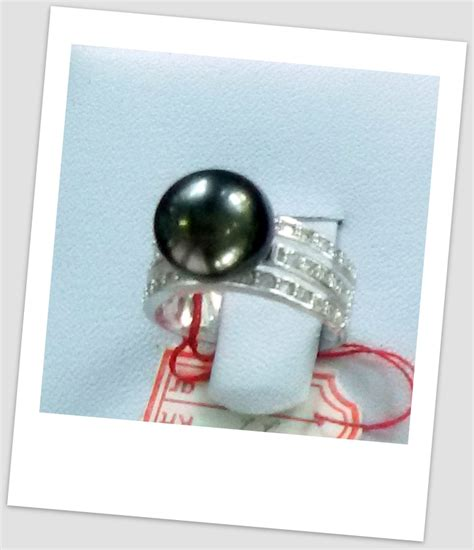 Cincin Mutiara Lombok Perhiasan Accessories 3 handmade gold ring with south sea pearl ctr 099 info harga perhiasan mutiara lombok dari