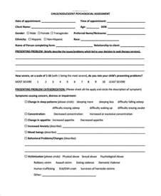 mental health assessment template mental health assessment mental health diversion
