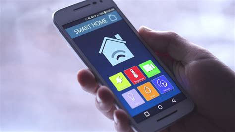 smartphone home automation 4k smart home temperature control on smartphone app