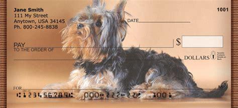 yorkie personal checks terrier personal checks terrier check designs doggiechecks