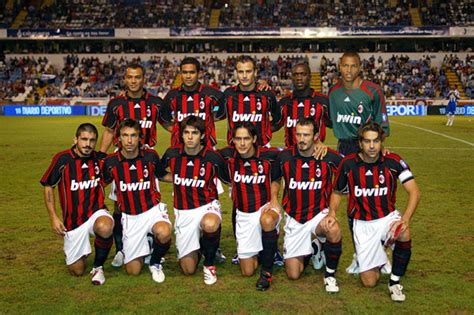 Calendario De Futbol Español Ac Milan Squad Pose Acmilanwallpaper