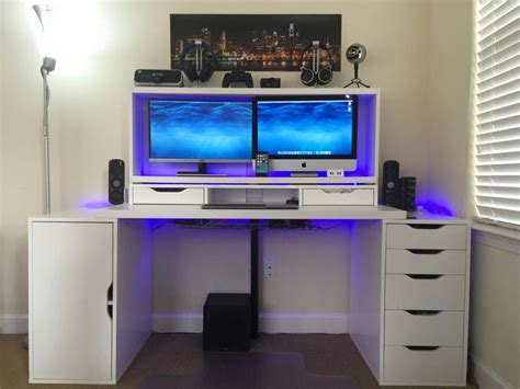 Gaming Desk Ikea Ikea Linnmon Ikea Alex My Next Study Room Pinterest Ikea Alex Desks And Desk Setup