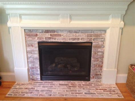 Brick Veneer Fireplace by Vintage Brick Veneer Brick Veneer Installation Tips