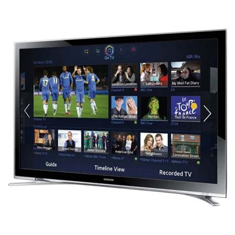 buy samsung ue32f4500 32 inch smart wifi built in hd ready 720p led tv with freeview hd from our