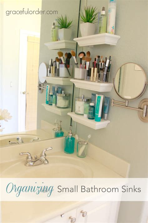 bathroom sink organization ideas 35 bathroom organization hacks small bathroom sinks small shelves and small bathroom