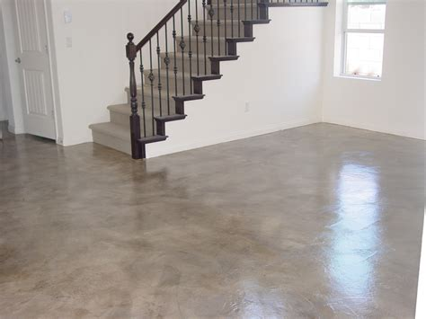 Interior Residential Concrete Floors Concrete