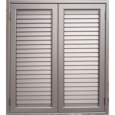 persiane in alluminio persiana in alluminio color acciaio con profilo retto