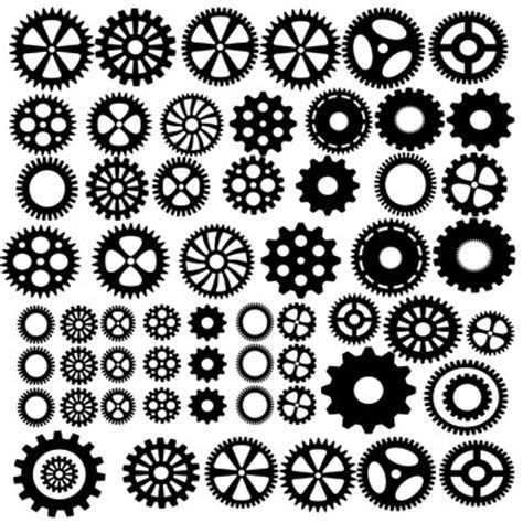 Stencil Machine Gear By 1airbrush memory maze chipboard cogs 12 quot x 12 quot scrapping clearly